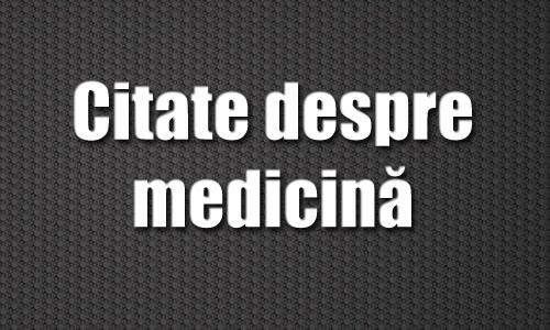 citate despre sanatate 10 citate despre medicină și sănătate   MedClub.eu citate despre sanatate